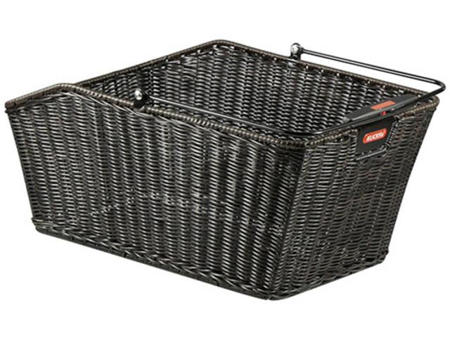 KlickFix Structura GT Gepäckträgerkorb mit KorbKlip schwarz
